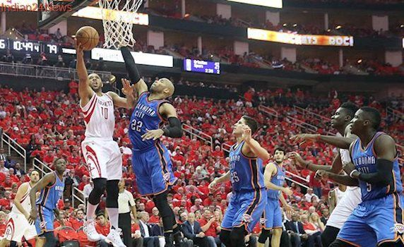Houston Rockets advance with 105-99 win over Oklahoma City Thunder