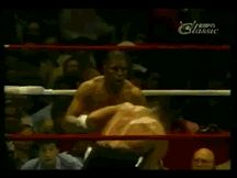 Mike Tyson's ridiculously good head movement.