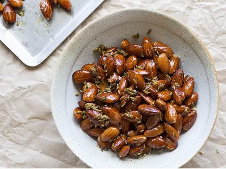 Almonds Toasted with Fennel Seeds and Extra Virgin Olive Oil - Maggie Beer