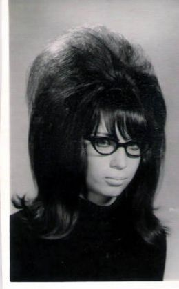 Blame it on the 60's What's really funny is the fact that my parents used to say our hair looked like a bird's nest...I NEVER saw the connection (WHAT!!!) Now, I am so thankful birds didn't really try to nest in my hair!!