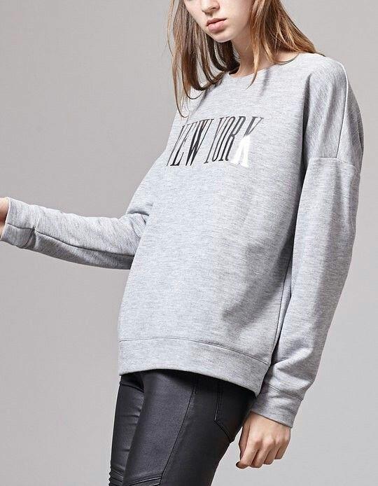 Sweatshirt#NY#Saturday