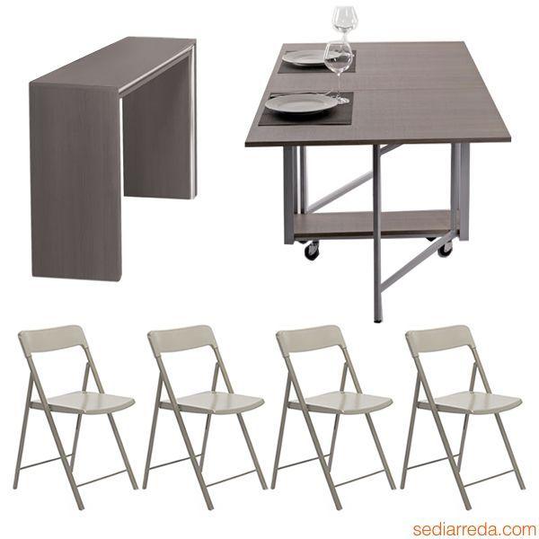 Oltre 25 fantastiche idee su tavolo pieghevole su - Tavolo richiudibile ikea ...