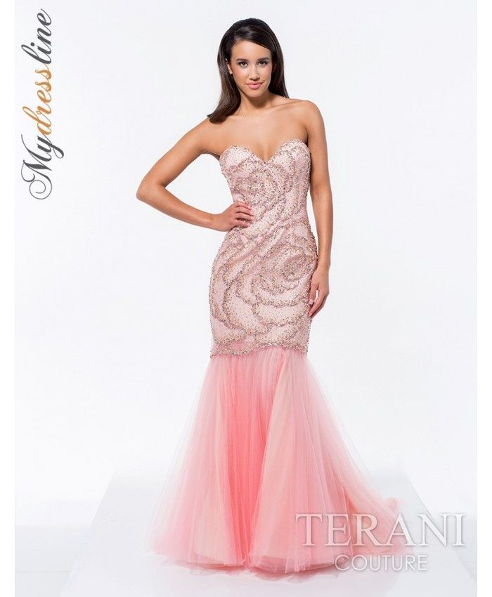 187 best Terani Couture Spring 2015 Collection images on Pinterest ...