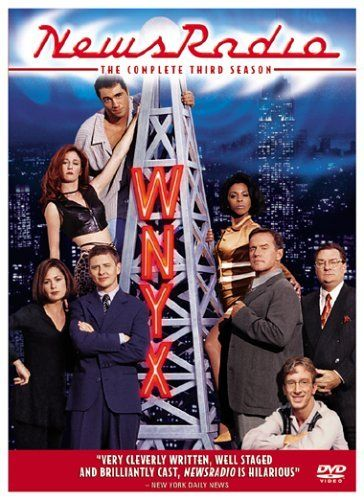 "Created by Paul Simms.  With Dave Foley, Stephen Root, Andy Dick, Maura Tierney. The workplace sitcom ""NewsRadio"" explores the office politics and interpersonal relationships among the staff of WNYX NewsRadio, New York's #2 news radio station. Beleaguered news director Dave Nelson (Dave Foley) tries his best to manage a staff that includes egotistical anchors Dave McNeal (Phil Hartman) and Catherine Duke (Khandi Alexander), ambitious supervising producer Lisa Miller (Maura ..."