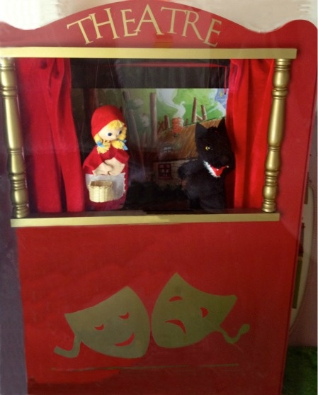 French puppet theater-Paris FleaingFrance Brocante Society