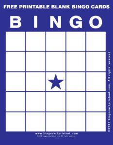Free Printable Blank Bingo Cards 6                                                                                                                                                                                 More