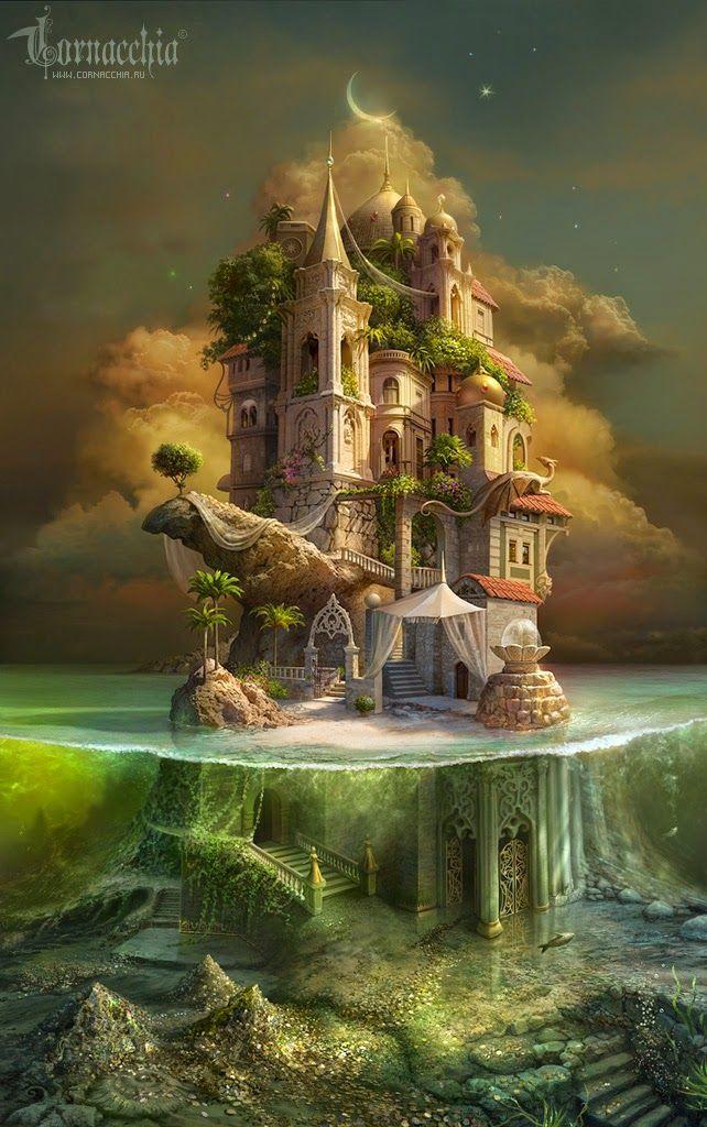 Sociolatte: Kidnapped Princesses Island by Gloria Delgado