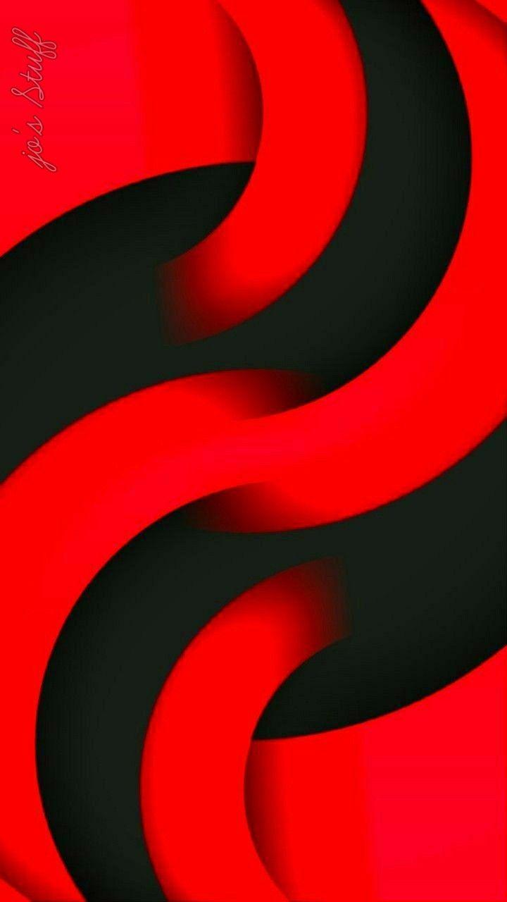 Wallpaper 100 Yin Yang Ripple Red And Black Wallpaper Red And Black Background Red Wallpaper