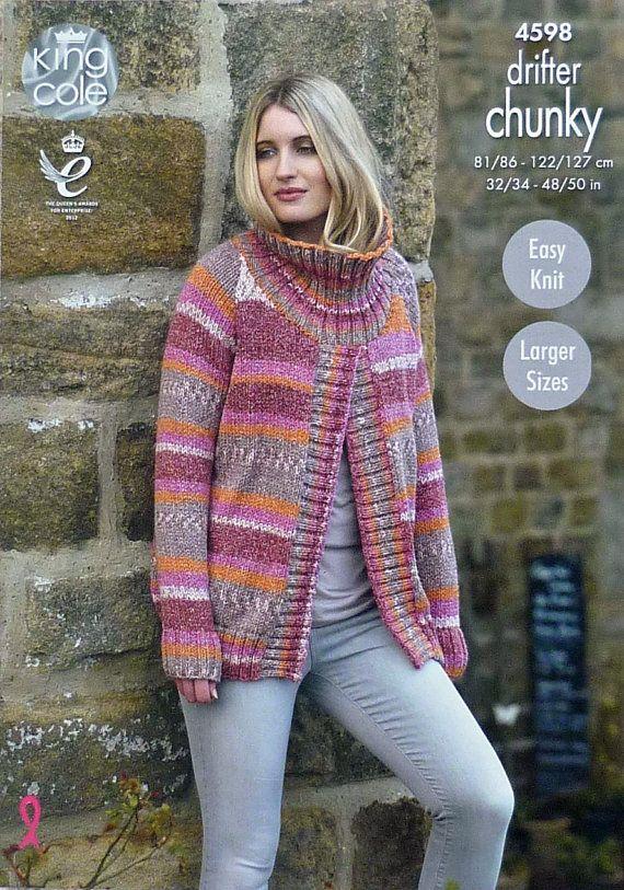 27 Best Coats Ponchos Jackets Images On Pinterest Knitting