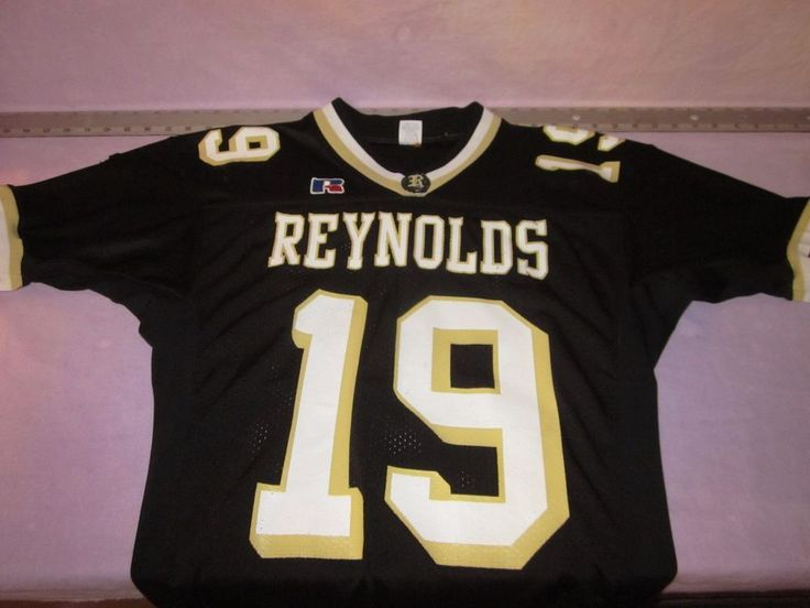 rare RJ Reynolds High School Winston-Salem, NC Football Jersey sz Medium #19