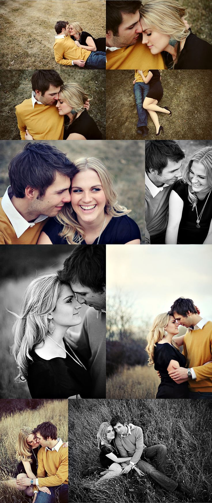 Couple or engagement poses