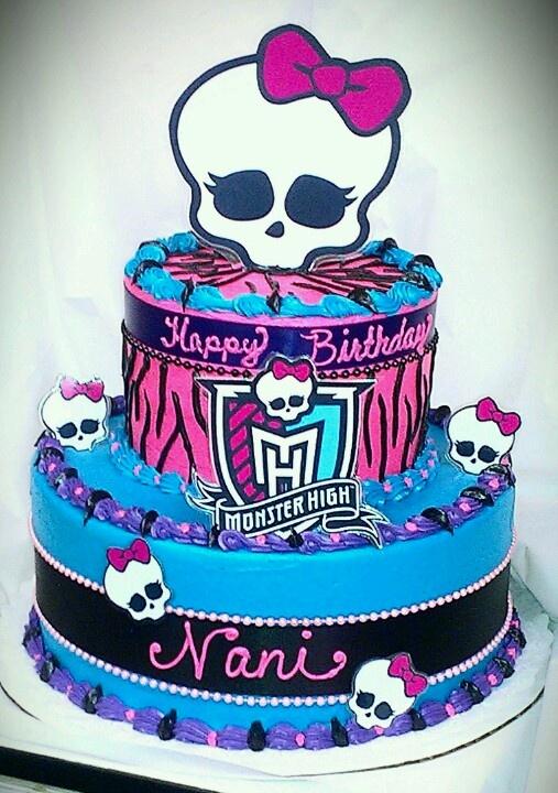 Best 20 Monster High Cakes Ideas On Pinterest