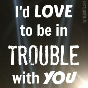 """""""I'd love to be in trouble with you"""" - Charlie Puth Lyrics"""