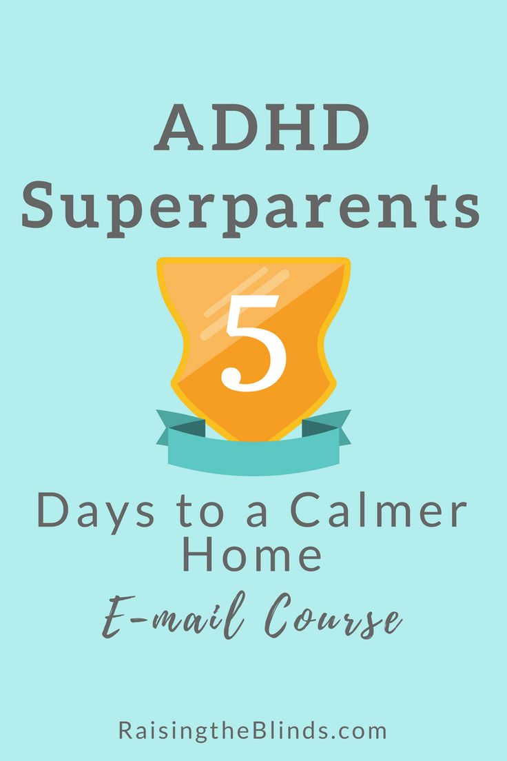 ADHD Superparents - FREE e-course