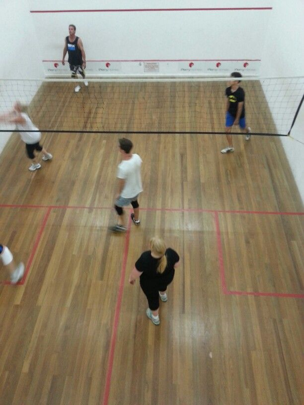 Indoor volleyball at beautiful Brunswick heads
