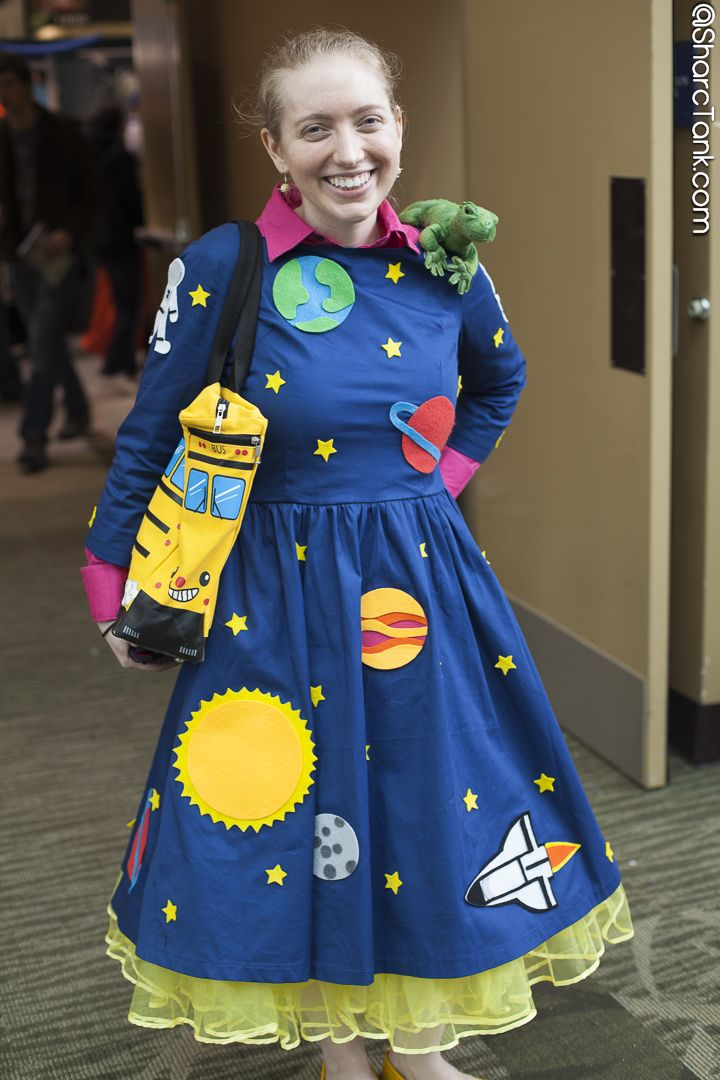 Ms. Frizzle, from Magic School Bus, by the very talented Nicole Scharping!