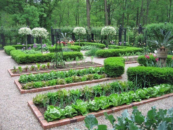 Edible Landscaping: New Jersey Kitchen Garden   jardin potager   bauerngarten   köksträdgård
