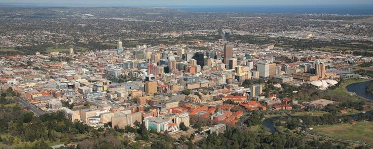 Adelaide is surrounded by a wide belt of parklands which are jealously protected from enroachment