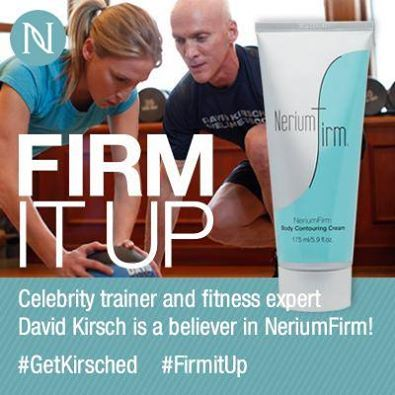 David Kirsch and Nerium are teaming up for an event today!!! Wellness guru and founder of New York's Madison Square Club, where he has been training celebrities for the past 20 years. He is the author of four books on fitness & producer of six workout DVDs! Please go to www.vaughanservices.nerium.com for more info on this product or business opportunity!
