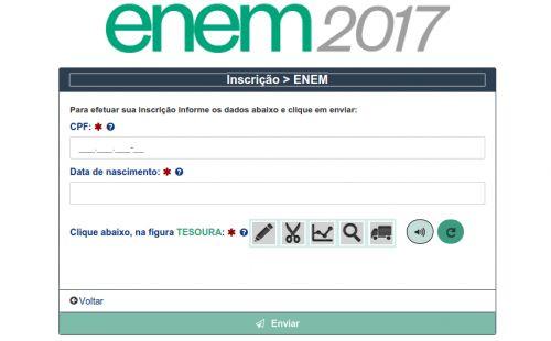 Inep Lança Site Oficial e Abre Inscrições no Enem 2017