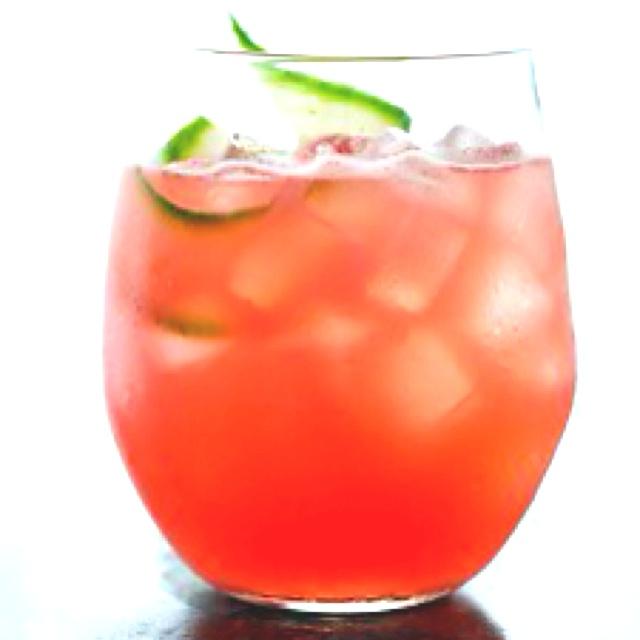 Watermelon cucumber cooler | Refrescos y bebidas | Pinterest