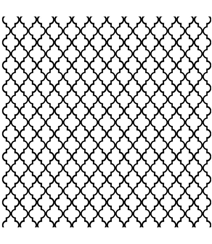 Free coloring page coloring-adult-oriental-pattern. Symmetrical and regular oriental patterns, for a moment of total disorientation
