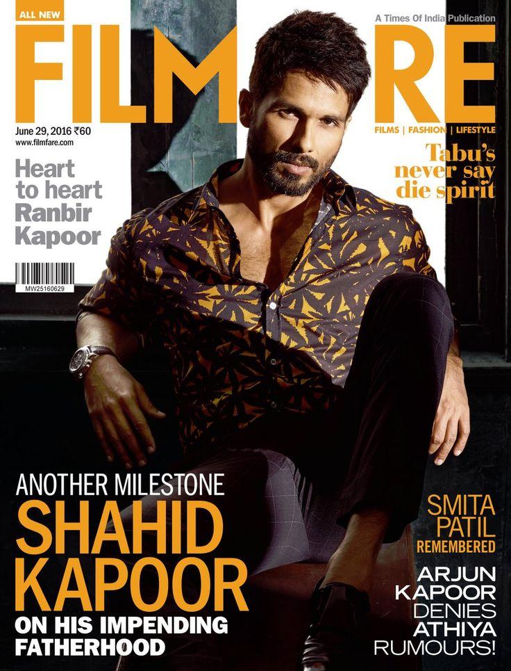 Filmfare June 2016 | Shahid Kapoor on the Magazine Cover