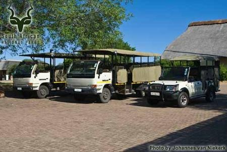 KNP - Skukuza - Game-drive Vehicles
