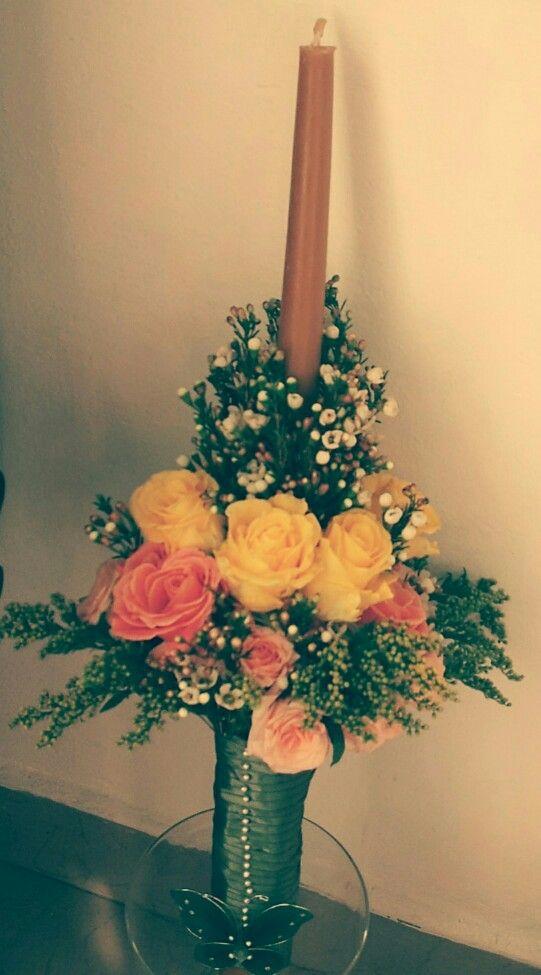 Baptise flower arrangement #millefleur #baptism