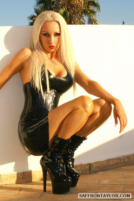 attire black fetish latex porn - Asian latex boots porn xxx - Asian latex porn famous latex fetish model  saffron taylor wearing