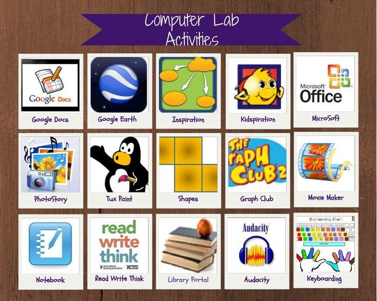 Computer Lab Lesson Resources