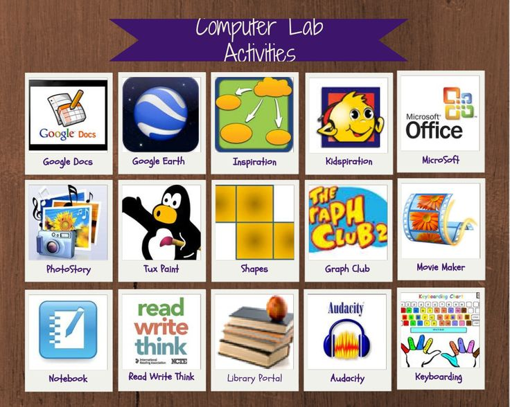 Computer Lab Lesson Resources
