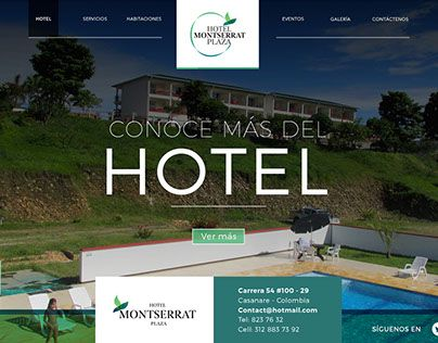 "Check out new work on my @Behance portfolio: ""Diseño web Hotel Montserrat"" http://be.net/gallery/32294037/Diseno-web-Hotel-Montserrat"