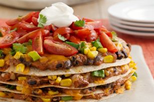 #kraftrecipes  The Great Burrito Stack recipe