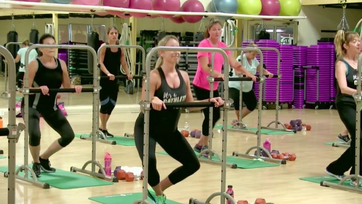 Cathe Friedrich's Fit Tower Cardio Legs Live workout. #CatheLive #FitTower #barre #workouts #glutes #LowerBodyWorkout