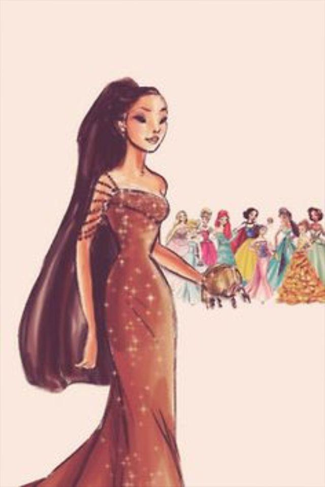 • art disney iphone collection vintage wallpaper - Pocahontas-  disney princess designer collection marryintothemob •