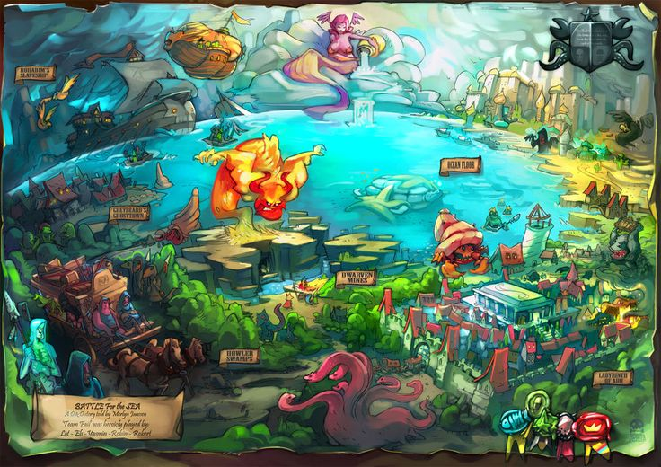 DandD map by RobinKeijzer.deviantart.com on @deviantART