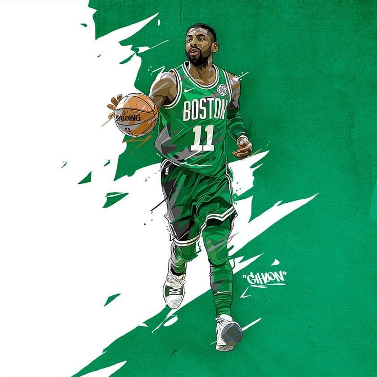 "115 Likes, 4 Comments - 홍기훈 (@incobillust) on Instagram: ""카일리 어빙 Kyrie Irving #kyrieirving #celtics #bostonceltics #nbaart #illustration #irving #nike…"""