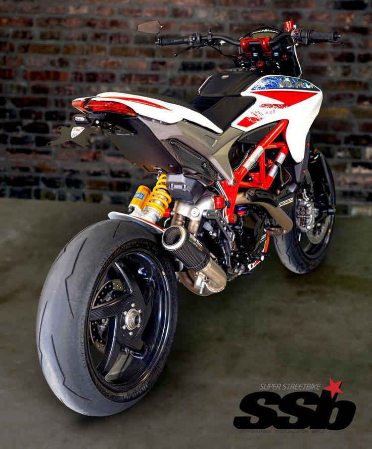 Motovation USA Custom Carbon 2014 Ducati Hypermotard 821 SP   Super Streetbike