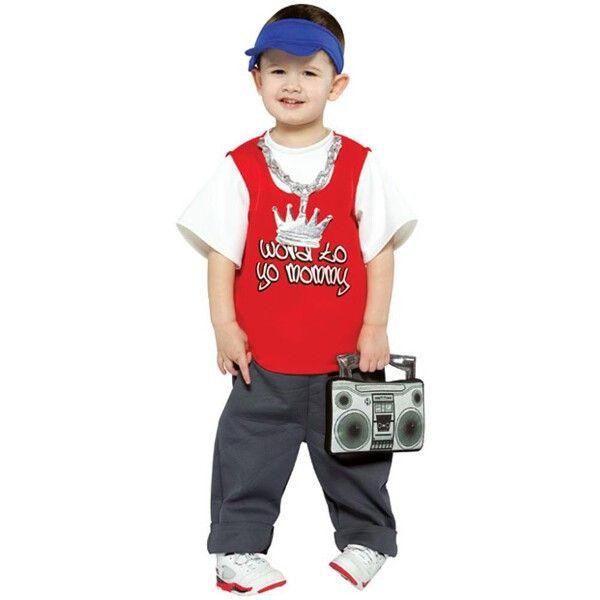 Toddler Rapper Costume
