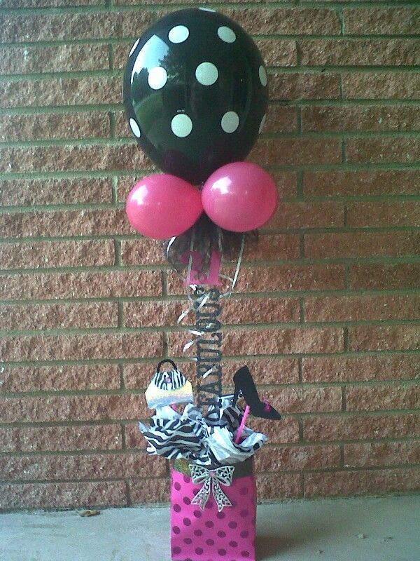 Centerpiece for 21st birthday Birthday BalloonsParty