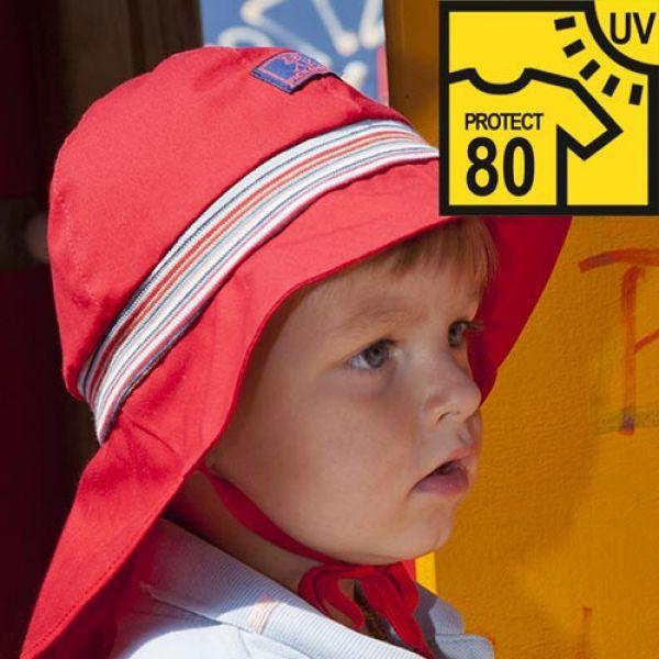 Pickapooh - Hut Feuerwehr UV-Schutz 80 rot, kbA