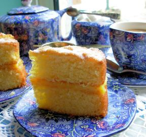 Best Drama: Downton Abbey English Sponge Cake for Teatime