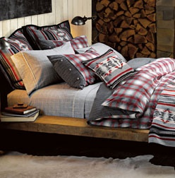 Got the sheet set and duvet cover for Christmas. Would love the Pendleton style European and small pillow shams.