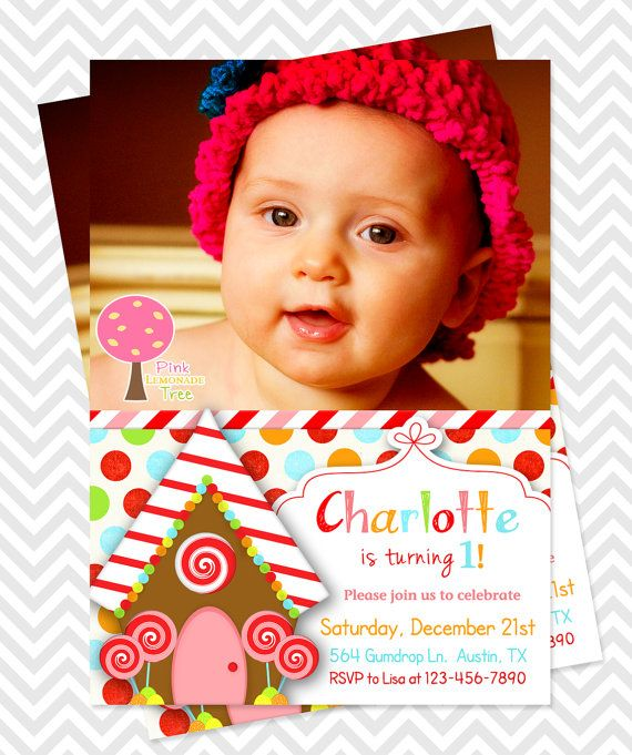 The 7 best Christmas party invites images on Pinterest Gingerbread