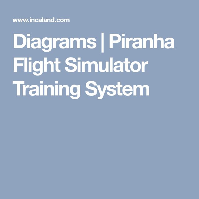 Diagrams | Piranha Flight Simulator Training System