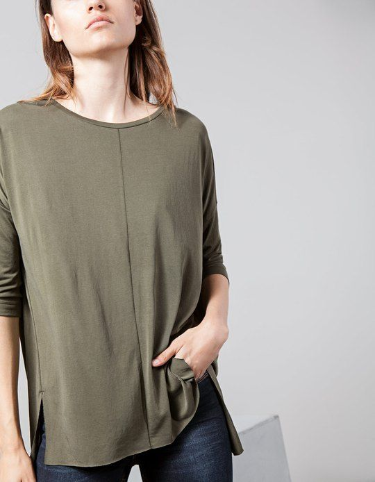 At Stradivarius you'll find 1 Basic top for woman for just 8900 Armenia . Visit now to discover this and more T-SHIRTS.