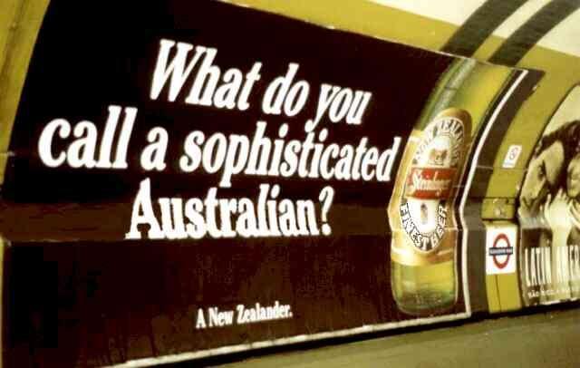 Australian taking the piss