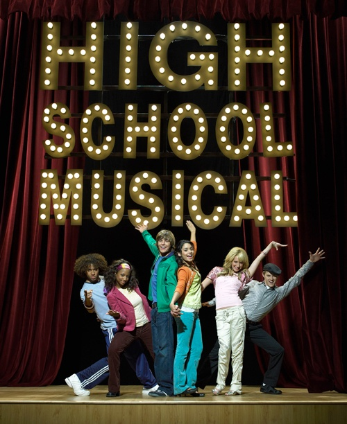 Troy, Gabriella, Sharpay, Ryan, Chad et Taylor (High School Musical) #highschoolmusical #disneychannel