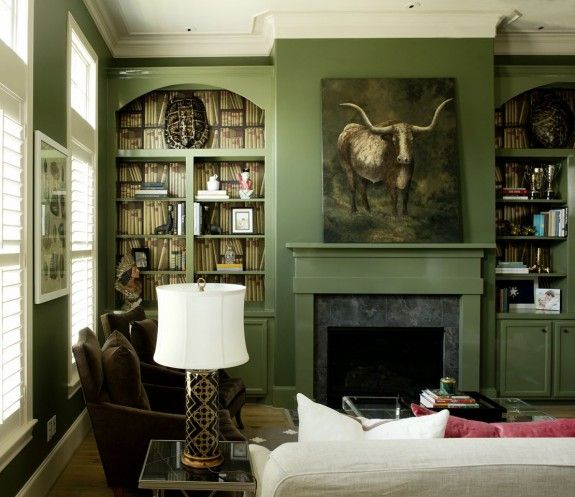 One Week Makeover By Bailey McCarthy As Seen In Rue Magazine Olive Living RoomsPeppermint BlissGreen Paint ColorsWall